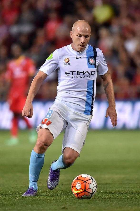 Aaron Mooy of Melbourne City. (Photo by Getty Images)