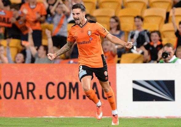Jamie McLaren, Brisbane Roar (Photo by Getty Images)
