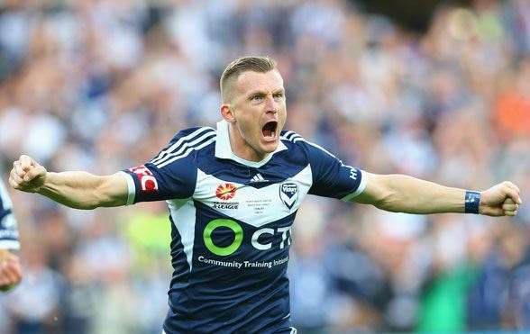 Besart Berisha, Melbourne Victory - (Photo by Getty Images)