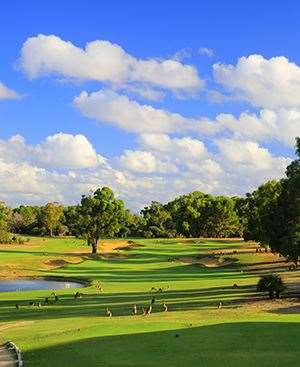 The realigned 10th hole has also been beefed up with new bunkering. PHOTO: Brendan James/Golf Australia magazine