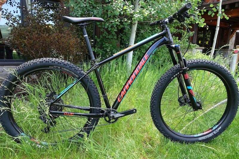 3b253d027a8 Another eye-catching model from Cannondale is the new Cujo hardtail. With  its 3.0