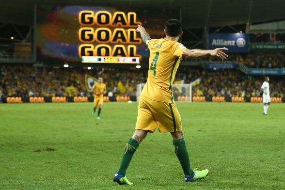 Present - Tim Cahill (Photo by Getty Images)