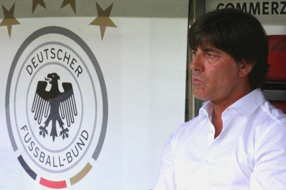 Joachim Loew has a tough assignment if he wants to win back to back silverware with Germany. (Photo by Getty Images)