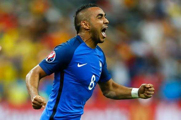 Dimitri Payet saves the day for the French. (Photo by Getty Images)
