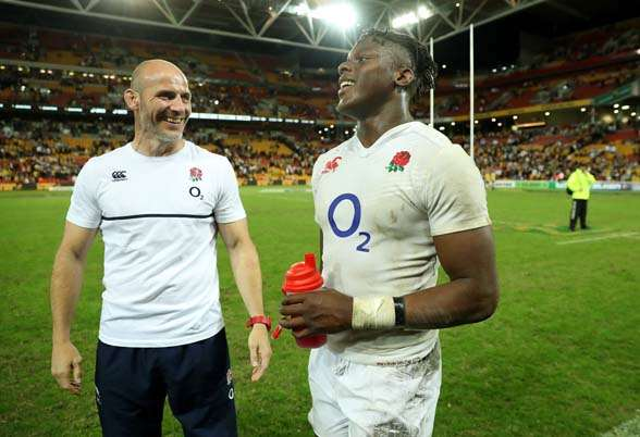 Maro Itoje was a standout in Game 1. (Photo by Getty Images)