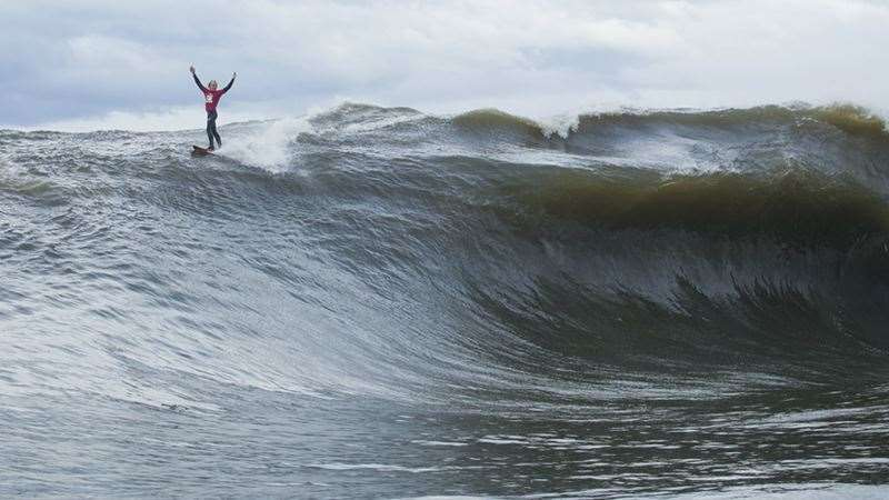 Russell Bierke tames Ours. Photo: Ed Sloane/Red Bull Content Pool