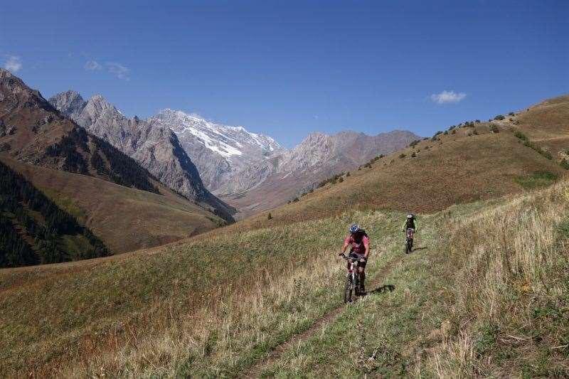 Talas Mountains Traverse bikepacking