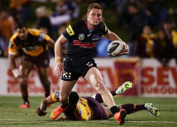 Will Matt Moylan lead the Panthers to the promise land? Or Wayne Bennett and his men be just too good! (Photos by Getty Images)