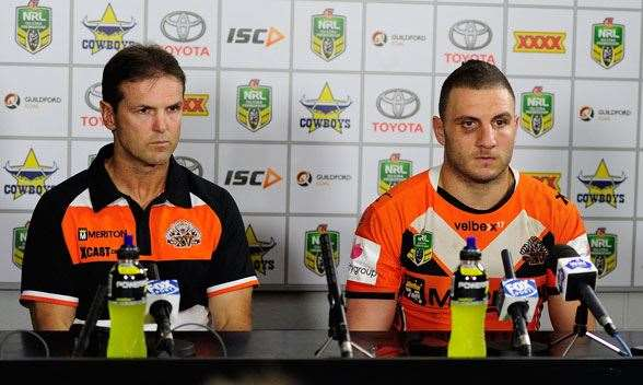 Mick Potter and Farah never had a great relationship. (Photo by Getty Images)
