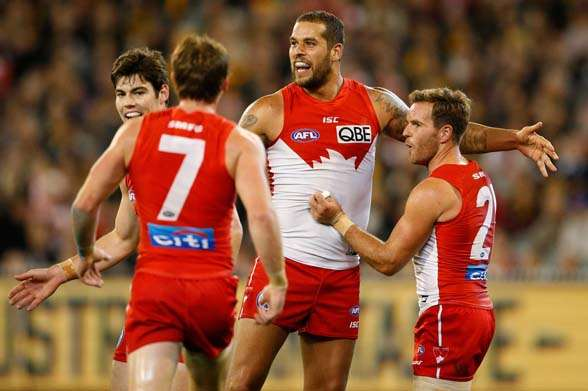Can the Swans re-find the spirit of 2012 after three years of heart break? (Photo by Getty Images)