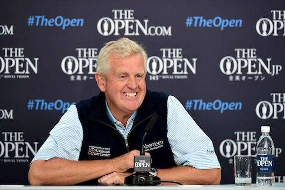 Monty is happy just to be playing this week. PHOTO: Stuart Franklin/Getty Images.