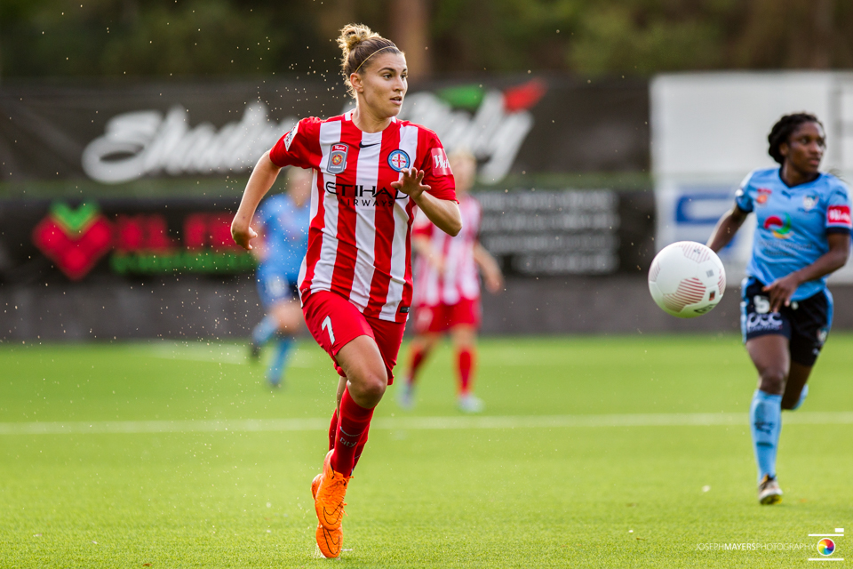 Steph Catley (Photo: Joseph Mayers Photography)
