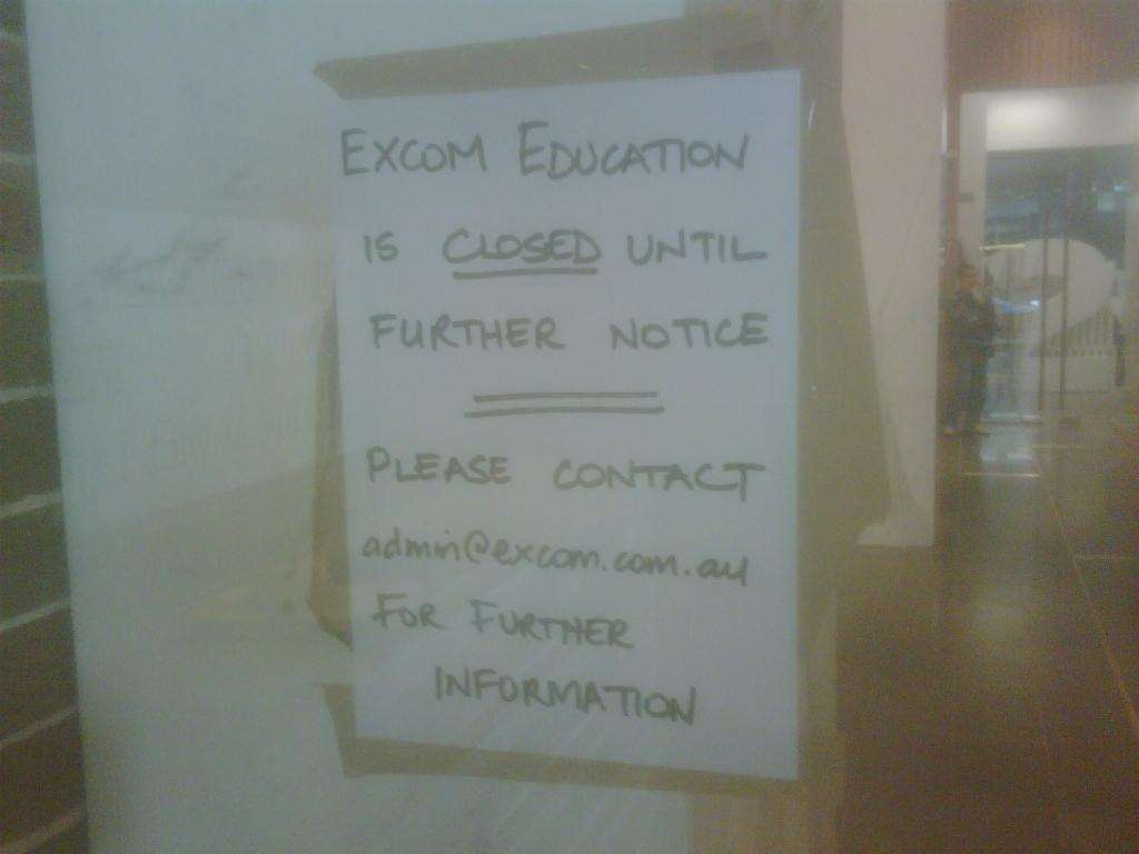 Excom shuts its doors training development finance itnews click to view full size image 1betcityfo Image collections