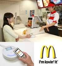 I'm loving it: paying for food with your mobile