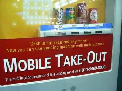 In Japan, paying with mobile might not be so weird after all