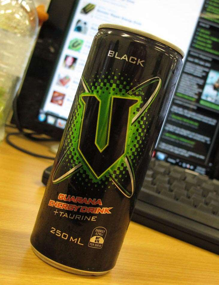 Atomic Energy Drink Review