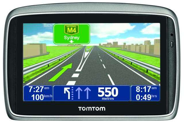 tomtom instructions how to operate