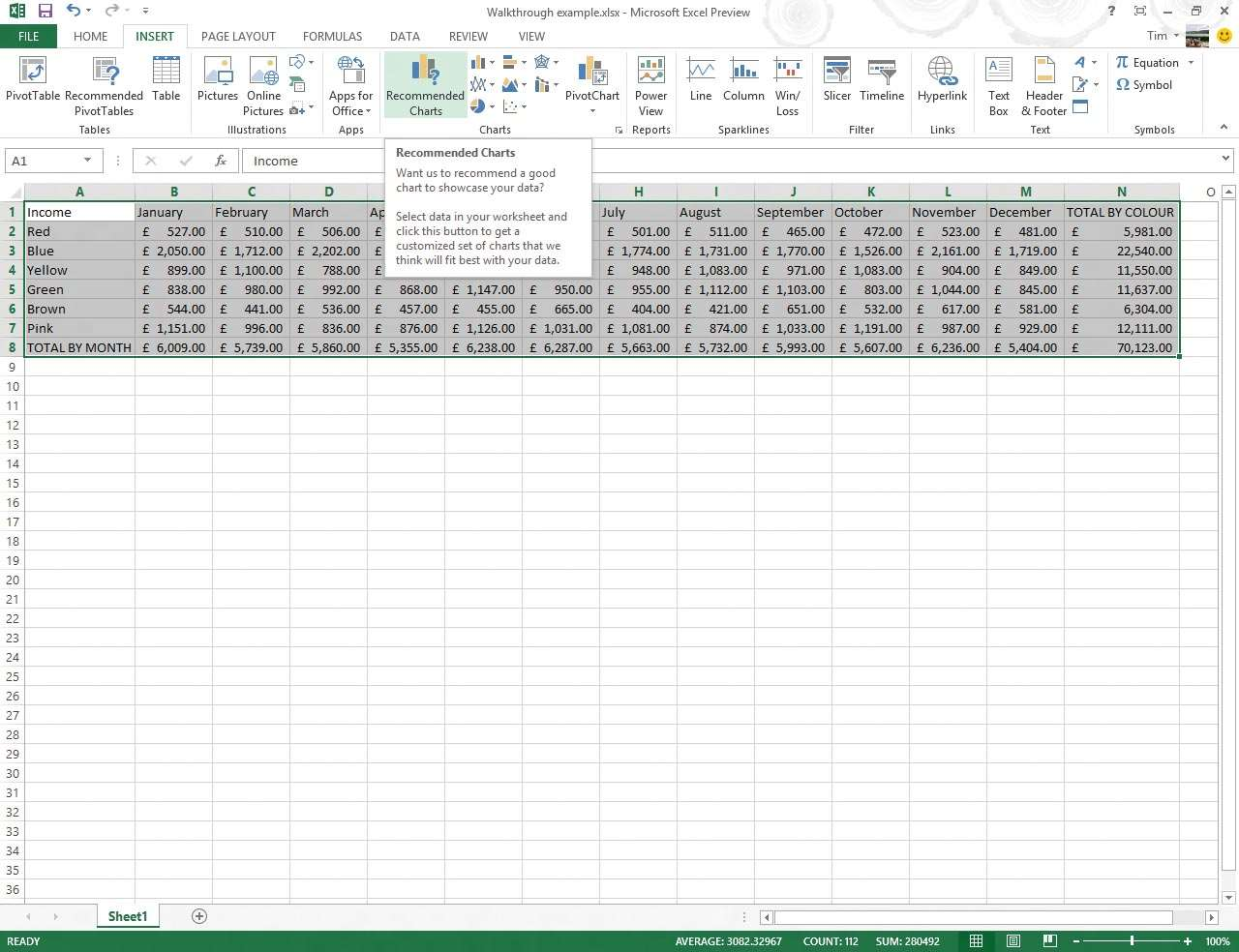 1 Excel 2007 Introduced Excellent Charting Tools, But Excel 2013 Makes It  Easier To Use