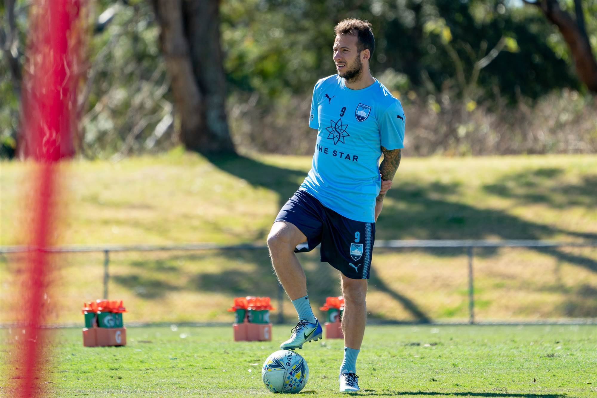 82205be52 Adam le Fondre links with his Sydney FC teammates to prepare for Tuesday s  FFA Cup clash