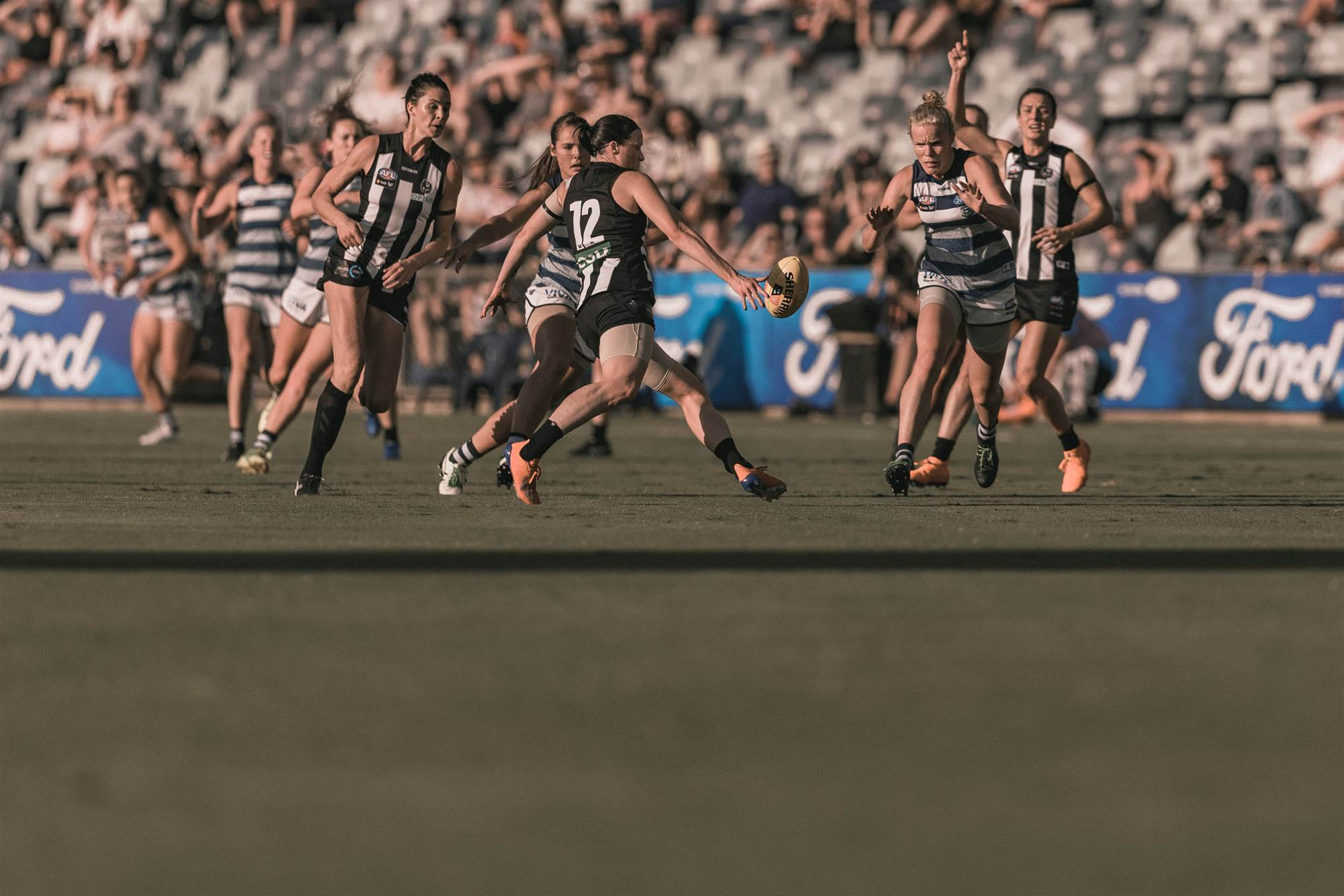 Pic Special Geelong V Collingwood The Women S Game Australia S Home Of Women S Sport News