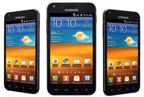 samsung galaxy s II screen