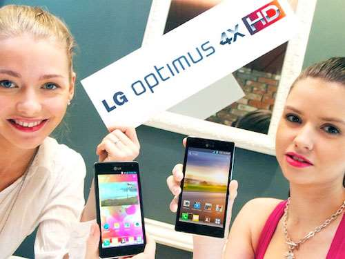 lg officially reveals lg optimus 4x hd ahead of mwc 2012