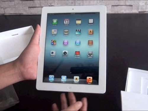 Apple new iPad 3 unboxing video