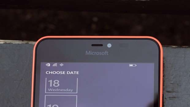 Microsoft Lumia 640 XL review: Front-facing camera
