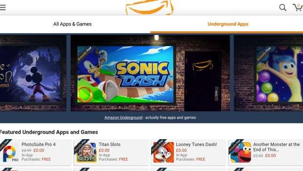 Amazon Underground App Store WTF