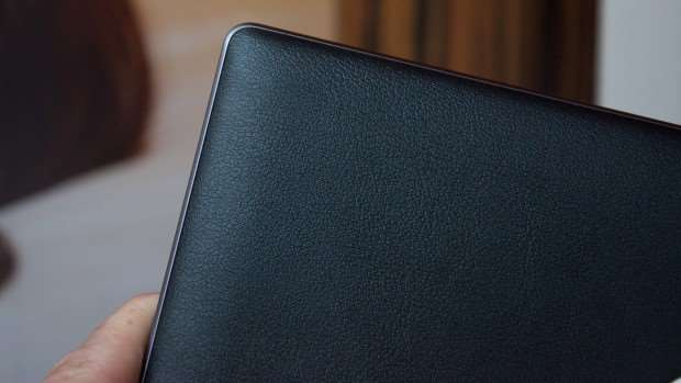 Lenovo Yoga Tab 3 Pro review: Faux leather back