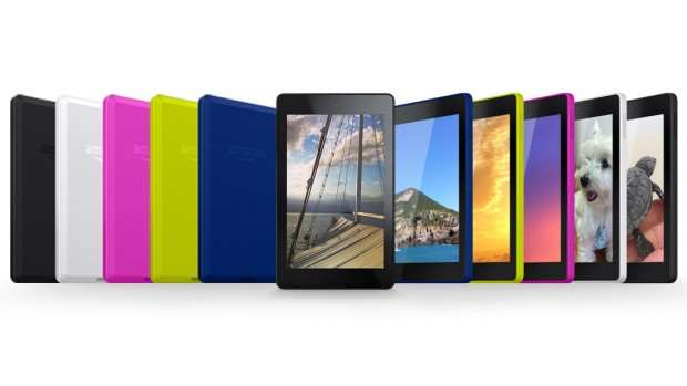 Amazon Kindle Fire tablet