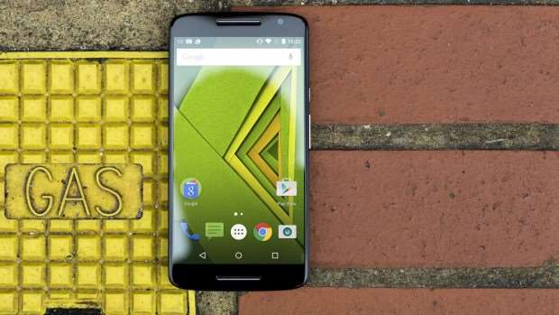 Motorola Moto X Play review: The 5.5in display has a resolution of 1,080 x 1,920