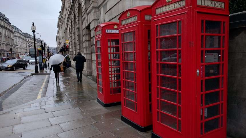 Google Nexus 5: Camera samples, red telephone boxes
