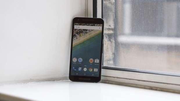 Google Nexus 5: Whole front