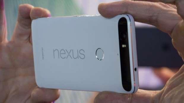 Google Nexus 6P review: Rear, in landscape