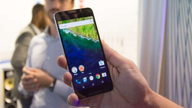 Google Nexus 6P: Front