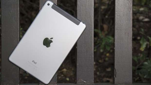 Apple iPad mini 4 review: Rear, at an angle