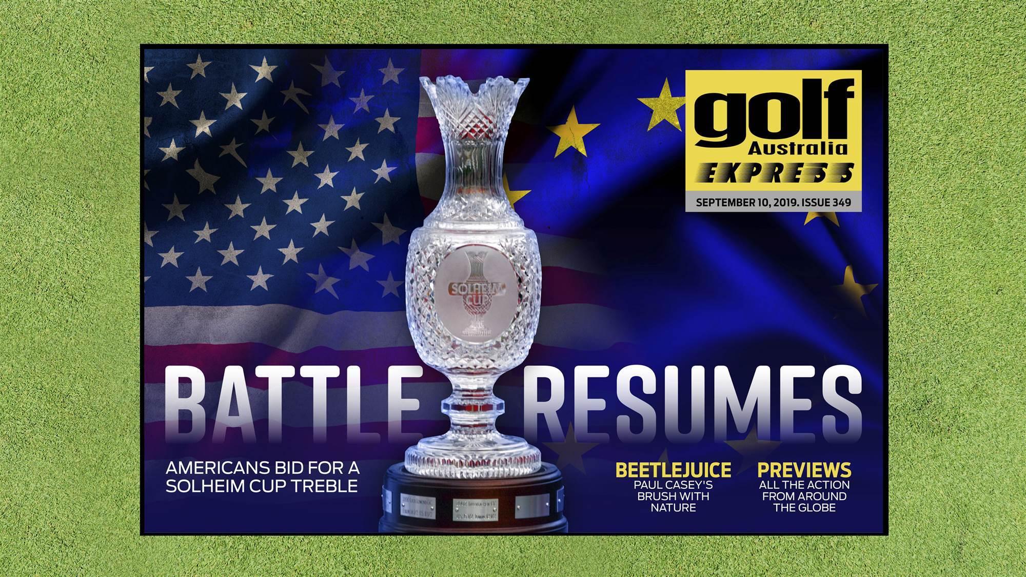 GA Express 349: Solheim Cup Preview