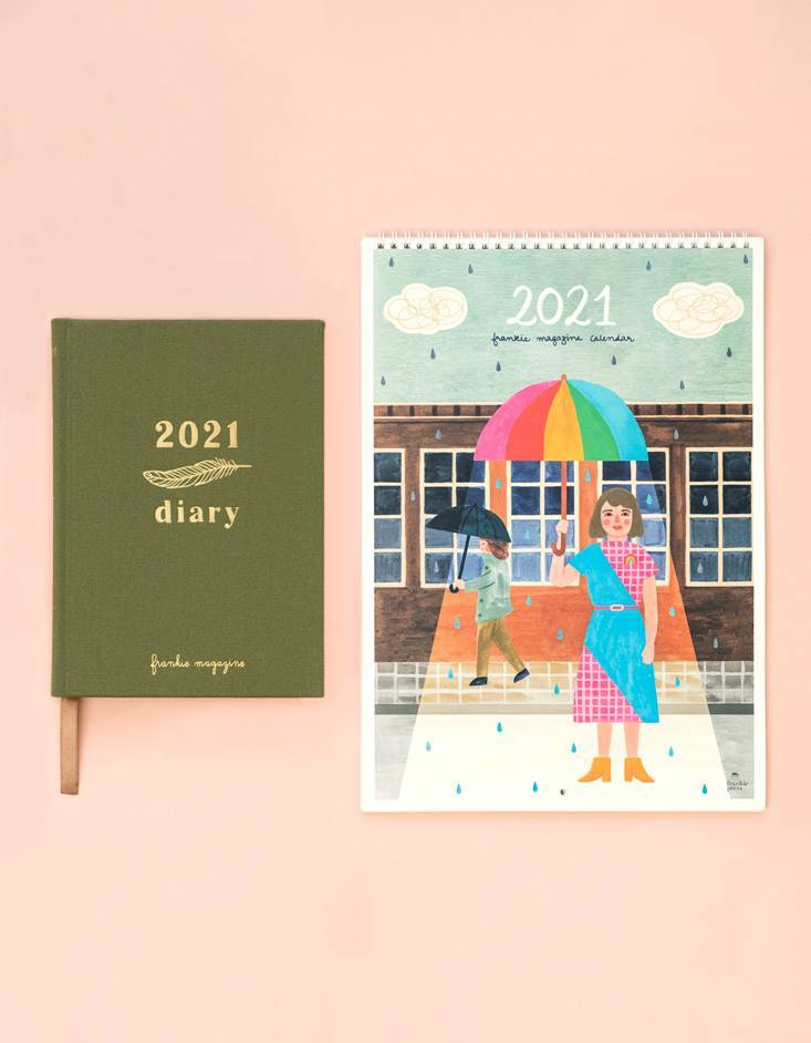 2021 diary and calendar bundle