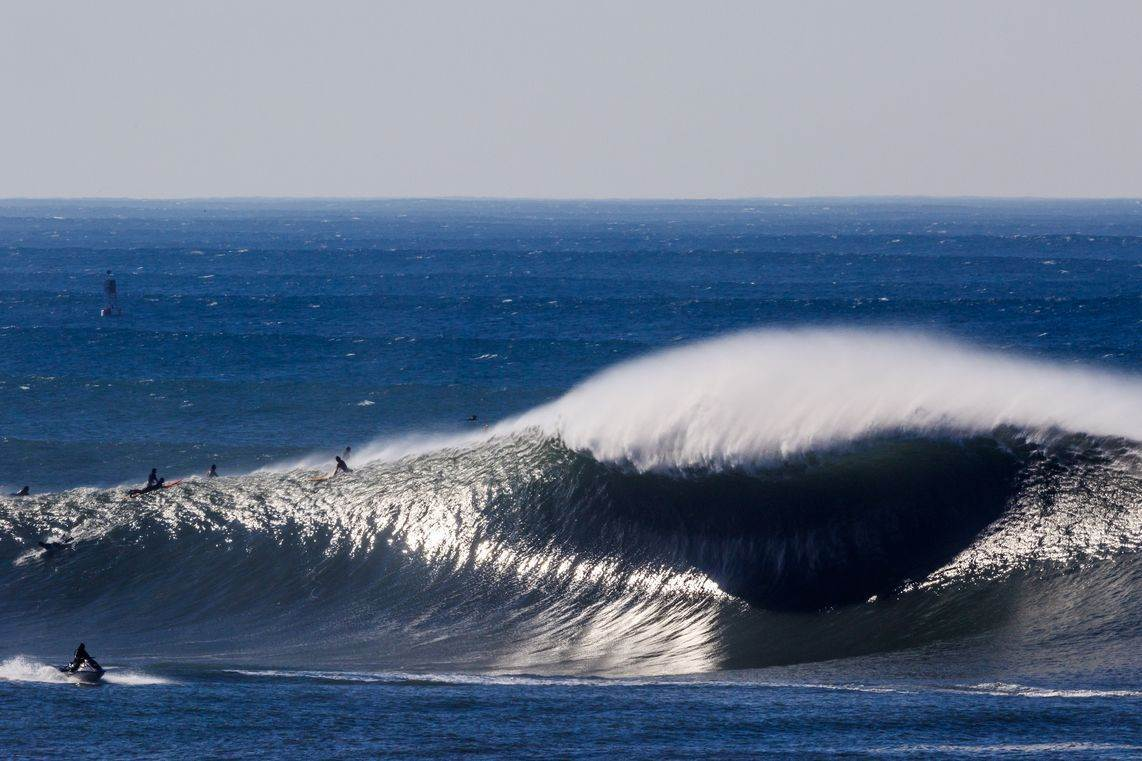 Is Today's Macking East Coast Swell Further Evidence of Wave Climate Change?