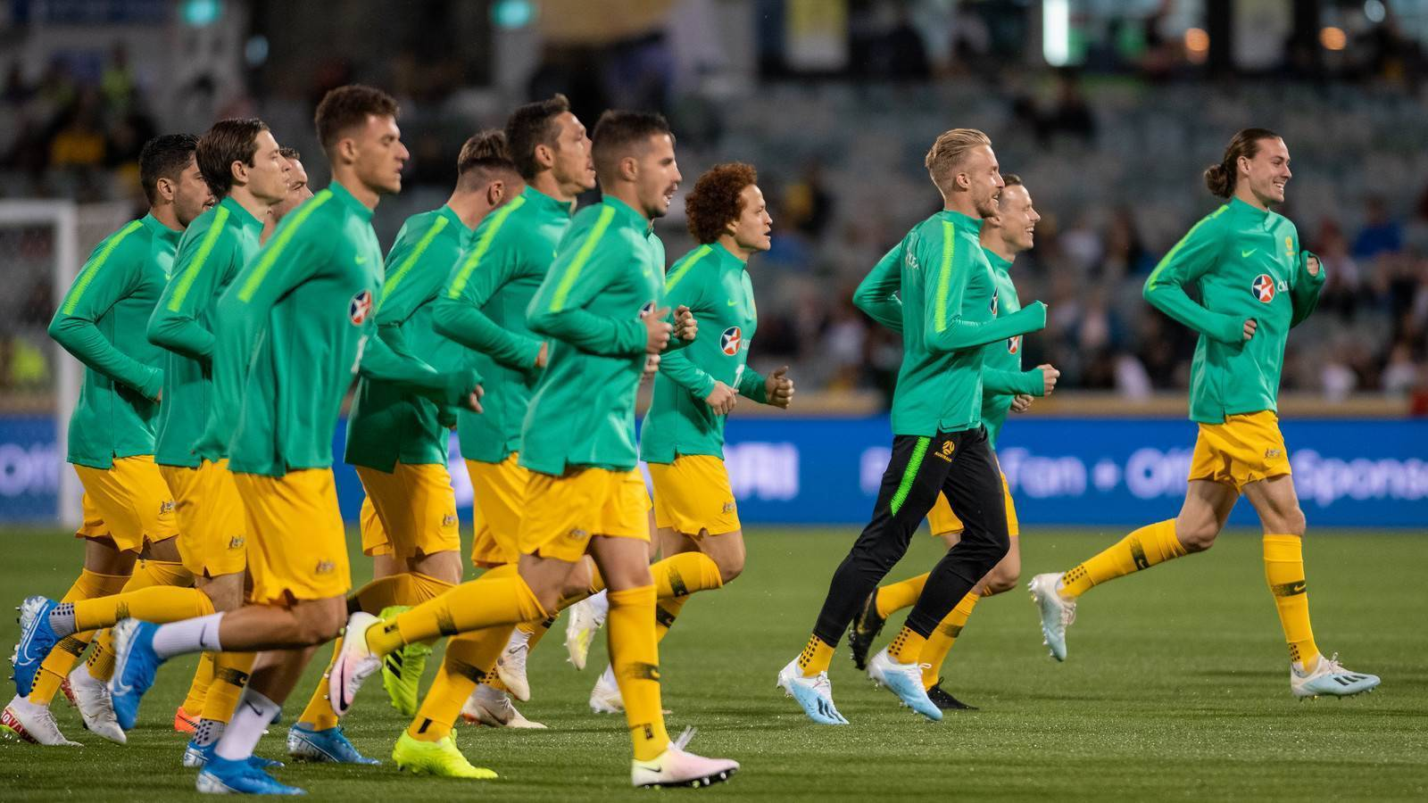 Arnold: Socceroos not even at half strength