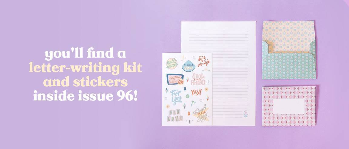 96 - letter kit and stickers