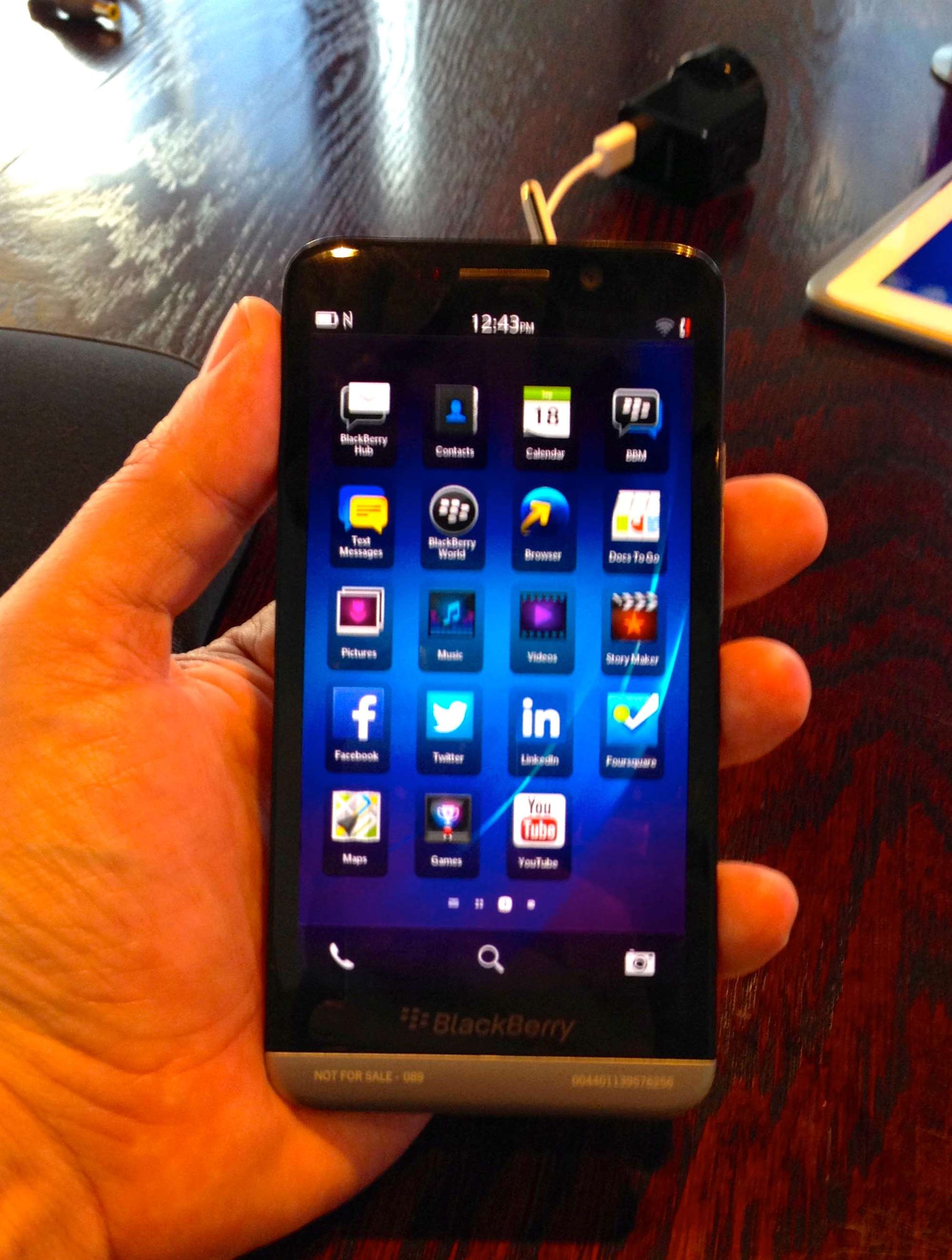 First look: BlackBerry's new Z30 - Mobility - CRN Australia