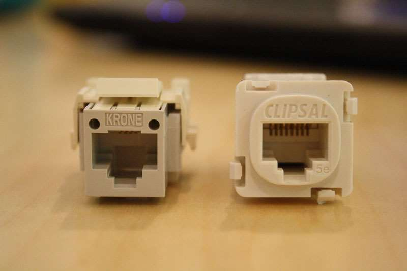 common home wiring mistakes using the wrong cable in the wrong rh pcauthority com au clipsal telephone socket wiring diagram australia Lj 2 1A Telephone Socket Assembly