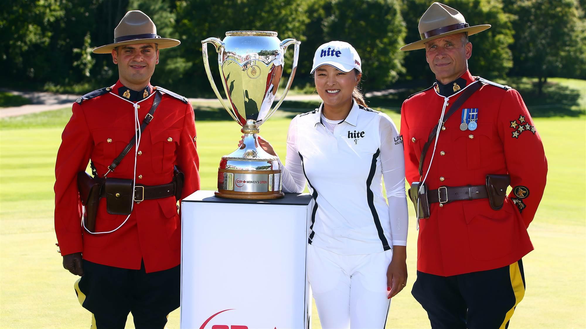 World No.1 Ko wins Canadian Open