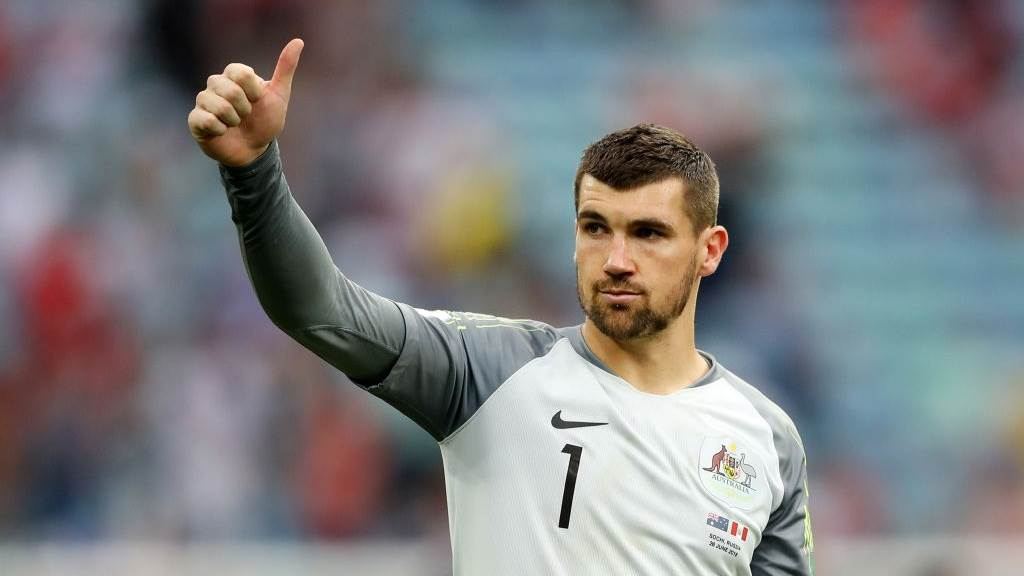Busy Socceroos period exciting keeper Ryan
