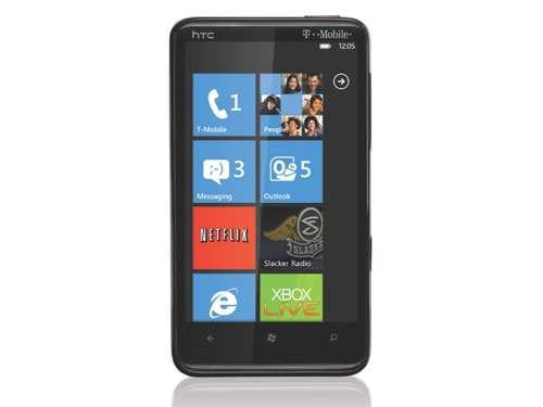 HTC HD7 gadget flashback