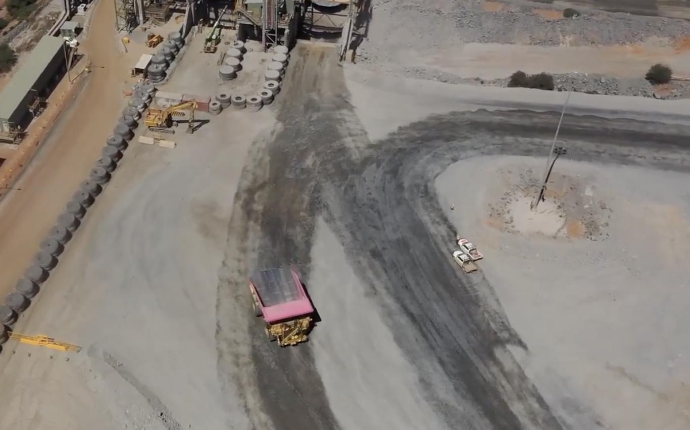 Newmont begins robot truck ops at Boddington mine