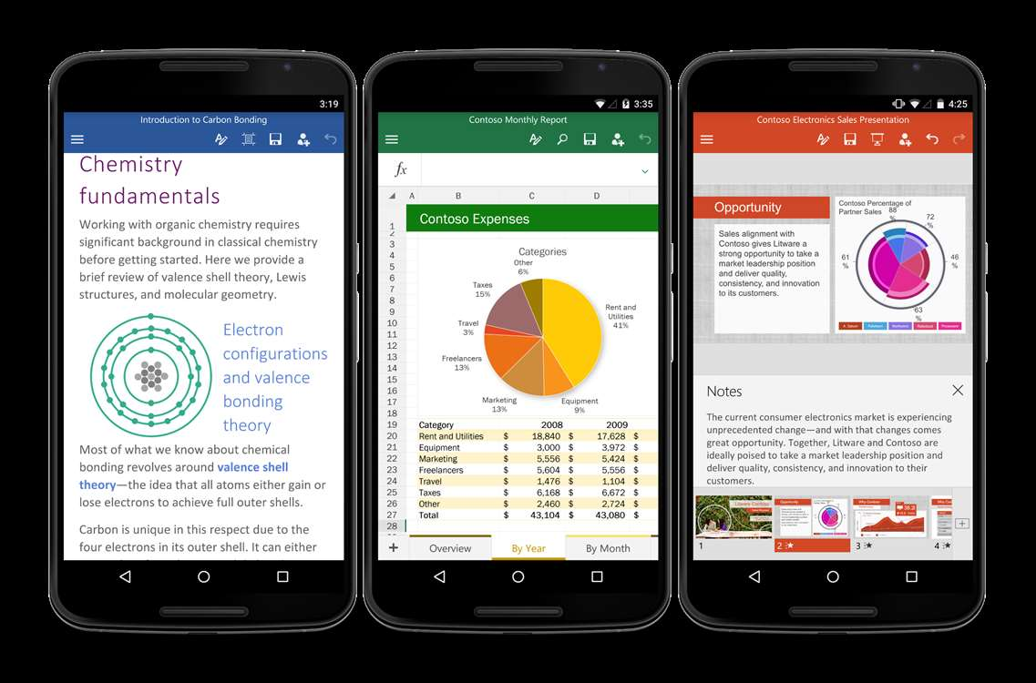 Office Apps: Microsoft Released Final Version For Android Smartphones