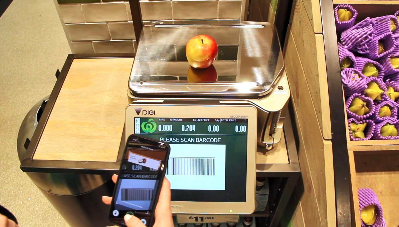Woolworths trials 'scan and go' smartphone shopping - Finance
